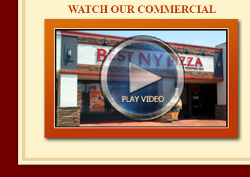 Commercial for Best NY Pizza